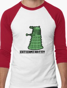 Dalek exterminate Men's Baseball ¾ T-Shirt