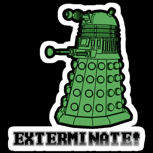 Dalek exterminate by kidomaga