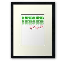 Red Velvet Joy Dumb Dumb Framed Print