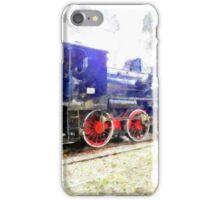 Steam locomotive iPhone Case/Skin