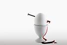 Nailed Egg by Gert Lavsen