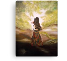 Guitar Gypsy Canvas Print