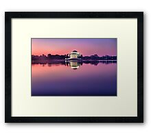 Jefferson Monument 2 Framed Print