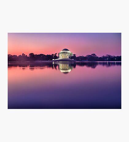 Jefferson Monument 2 Photographic Print