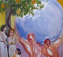 Les Pommes d'Or des Hesperides by AgnesZirini