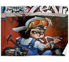 Paris Graffiti 2011 II Poster