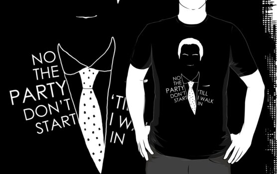 Tardy to the Moriarty party (white) by geothebio