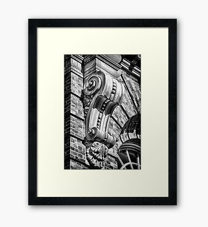 The Beauty of Corn Exchange. Framed Print