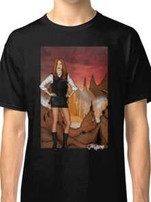 Amy Pond & Gallifrey V1 Classic T-Shirt