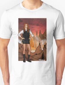 Amy Pond & Gallifrey V1 T-Shirt