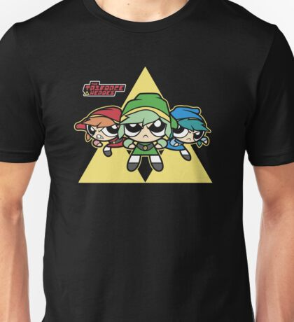 The Triforce Heroes Unisex T-Shirt