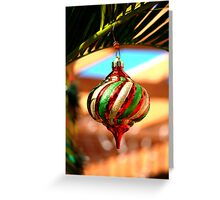 South FL Decorations Greeting Card