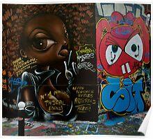 Paris Graffiti 2011 VII Poster