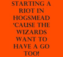 Starting a Riot in Hogsmead  by eggnog