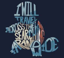 I will travel...