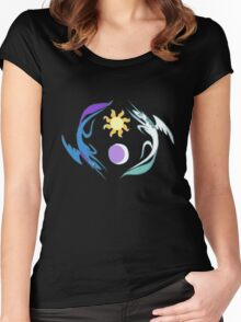 Equestria Flag - Friendship is Magic Women's Fitted Scoop T-Shirt