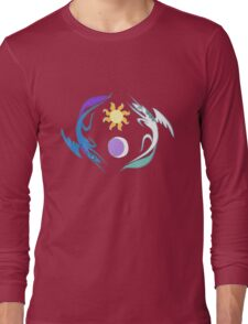 Equestria Flag - Friendship is Magic Long Sleeve T-Shirt