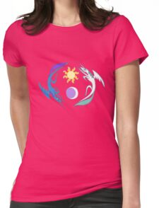 Equestria Flag - Friendship is Magic Womens Fitted T-Shirt