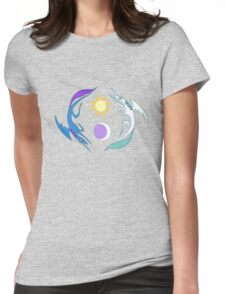 Equestria Flag - Friendship is Magic Womens Fitted T-Shirt