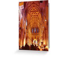 Inside God's House, NYC Greeting Card