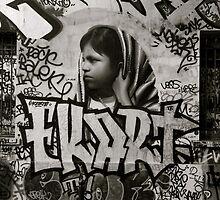 Paris Graffiti 2011 VIII by Louise Fahy