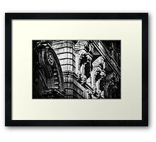 Ansonia Building Detail 2 Framed Print