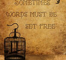 Sometimes words must be set free by GodfreyTemple