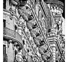 Ansonia Building Facade Detail 1 Photographic Print