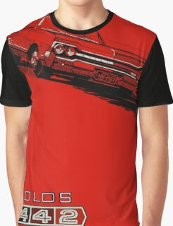 1964 Oldsmobile 442 poster reproduction Graphic T-Shirt