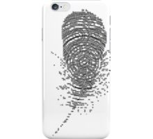 Floral feather - case iPhone Case/Skin