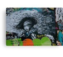 Paris Graffiti 2011 IX Canvas Print