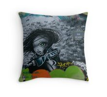 Paris Graffiti 2011 IX Throw Pillow
