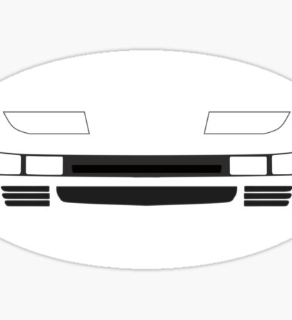 Z32 Headlights Sticker