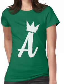 Ain't Royal - A (Black Series) Womens Fitted T-Shirt