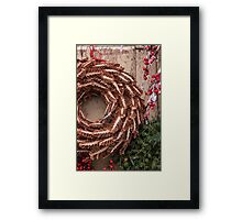 Christmas Wreaths Framed Print