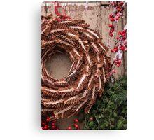 Christmas Wreaths Canvas Print