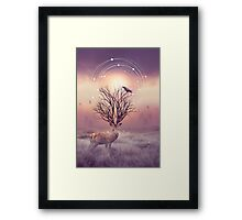 In the Stillness Framed Print