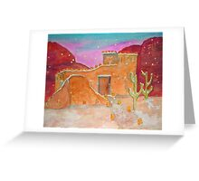 Christmas in Red Mountain Country Greeting Card