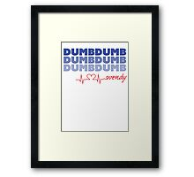 Red Velvet Wendy Dumb Dumb Framed Print