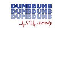 Red Velvet Wendy Dumb Dumb Photographic Print