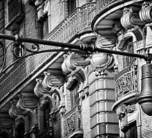 Ansonia Building Facade Detail 2 by BlackRussian