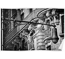 Ansonia Building Facade Detail 2 Poster