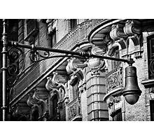 Ansonia Building Facade Detail 2 Photographic Print