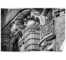Ansonia Building Detail 10 Poster
