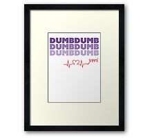 Red Velvet Yeri Dumb Dumb Framed Print