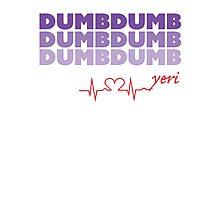 Red Velvet Yeri Dumb Dumb Photographic Print