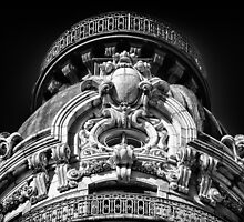 Top of the Ansonia Building 2 by BlackRussian