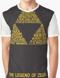 Legend of Zelda Typography Graphic T-Shirt