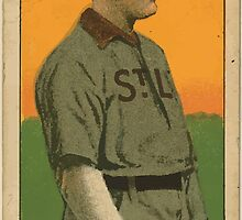Benjamin K Edwards Collection Jimmy Williams St Louis Browns baseball card portrait by wetdryvac