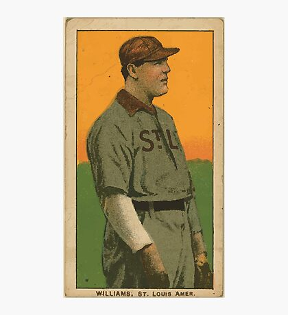 Benjamin K Edwards Collection Jimmy Williams St Louis Browns baseball card portrait Photographic Print